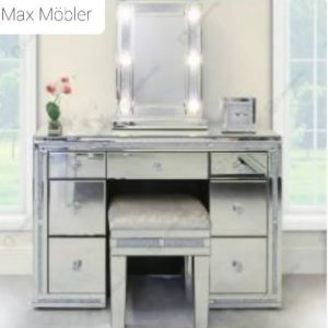 Sminkbord/Skrivbord Spegel med lampor