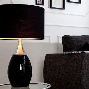 Bordslampa Carla 60cm svart
