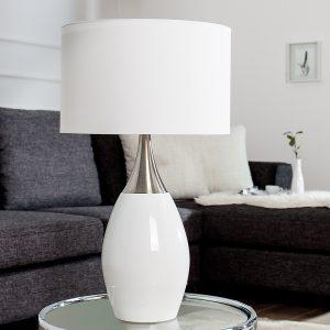 Bordslampa Carla 60cm vit