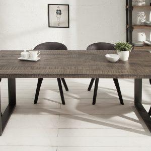 Matbord Iron Craft 160 cm grå mango