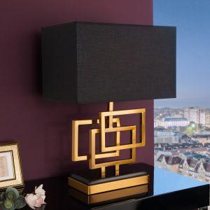 Bordslampa Leonor 56cm guld