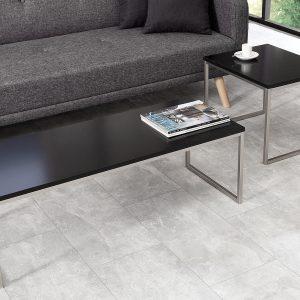 Element soffbord, set med 2, svart