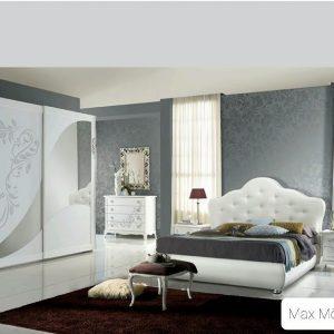 Lyxigt modernt sovrum