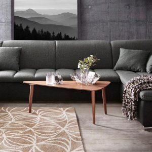 INOSIGN vardagsrum, i en modern blandning av material