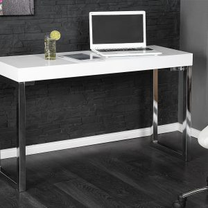 Laptopbord Vit skrivbord 120x40cm vit /