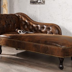 Recamiere Chesterfield look /