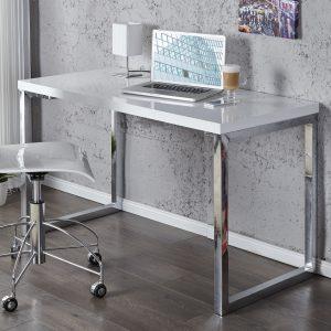 Laptopbord Vit skrivbord 120x60cm vit /
