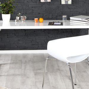 Vit skrivbord vit 140x60cm /