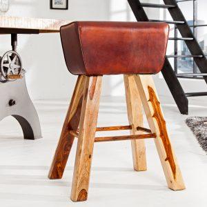 Barstol Bock läder /