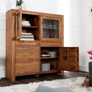 Highboard Lagos 120cm Sheesham /