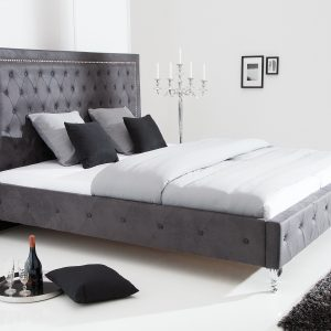 Extravagancia säng 180x200cm antikgrå /