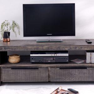 TV Board Iron Craft 130cm grå mango /