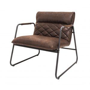 Mustang Lounger fåtölj vintage brun /
