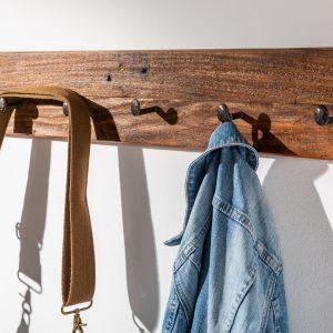Väggrockställ Hemingway 90cm återvunnet trä /