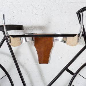 Cykelhängare tjurhuvud 50cm läder /