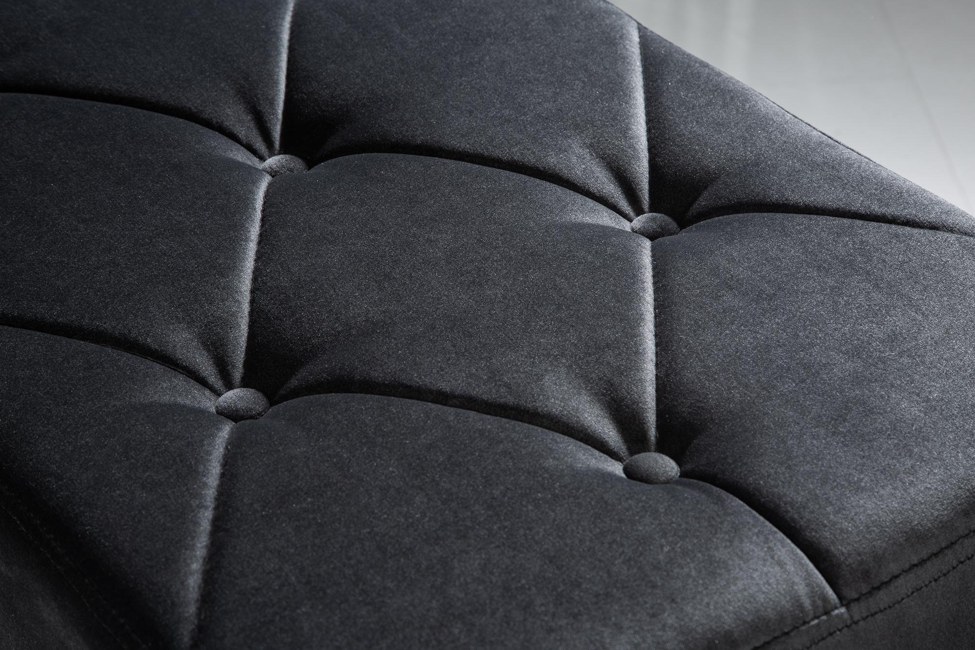 Bänk Modern barock 170cm svart | Norrköping Max Möbler