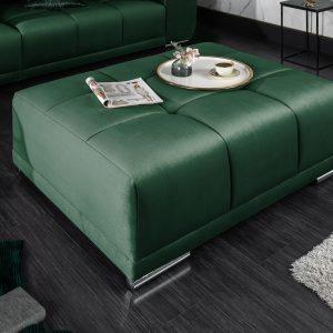 Elegancia pall 110cm smaragdgrön sammet /