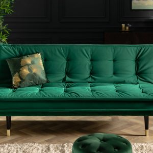 Magnifique bäddsoffa 184cm smaragdgrön /