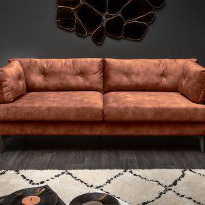 Underbar soffa 220cm sammet /