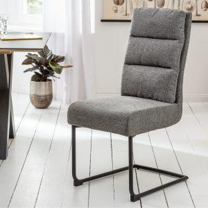 Cantilever Comfort struktur tyg grå /